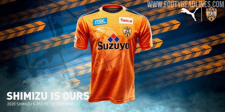 Nueva Camiseta Shimizu S-Pulse 2020
