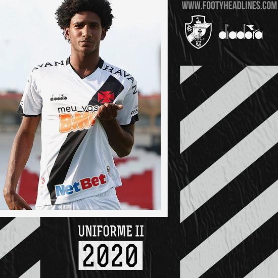 Camiseta Vasco da Gama 2ª Equipación 2020