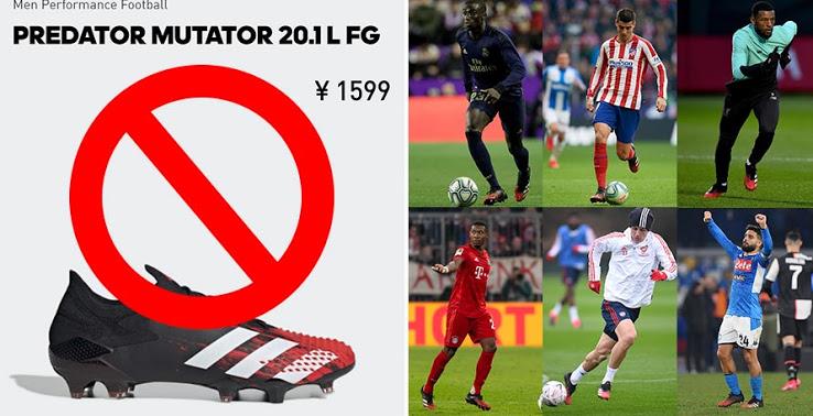 Más jugadores comienzan a usar las Botas Adidas Predator 20