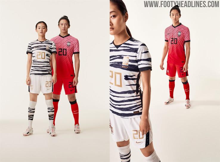 Camiseta Corea del Sur 2020 y Nuevo Logo