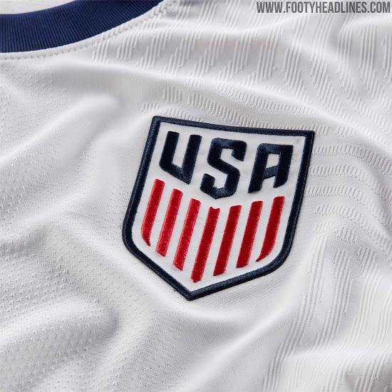 Camiseta USA 2020 Local & Visitante Reveladas
