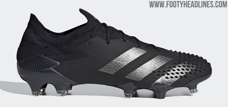 Nuevas Botas Blackout Low-Cut Adidas Predator 20 'Shadowbeast'