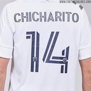 Nueva Tipologia para letras de las camisetas de la MLS 2020