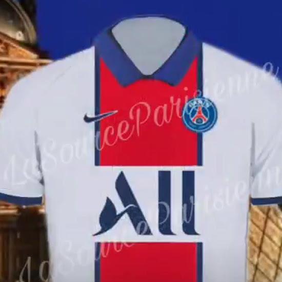 Camiseta PSG 2021 Visitante Filtrada