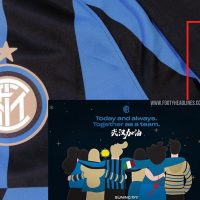Inter de Milán Llevara una insignia especial en el Derby Milano en apoyo de la ciudad china Wuhan