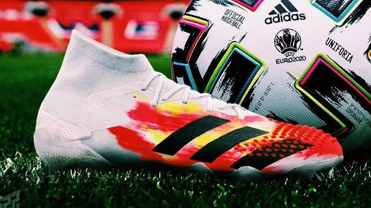 Euro 2020 Inspirado: Adidas Predator 20+ Botas 'Uniforia' Filtrado