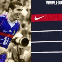 Filtrado Camiseta Francia 2020 inspirada en la camiseta del 1998?