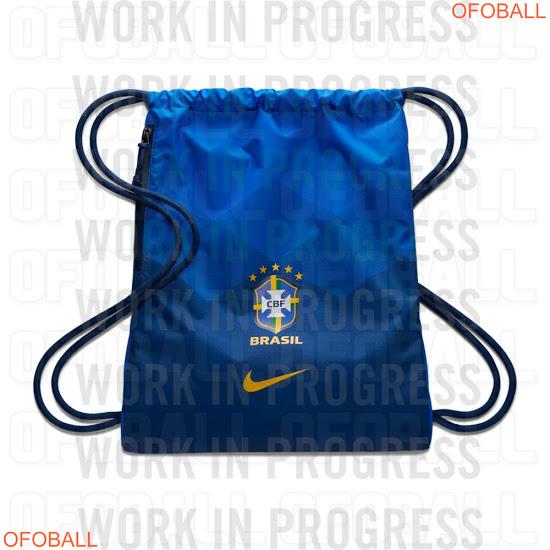 Camiseta 2ª Equipación Brasil 2020 Filtrada