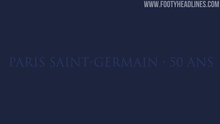 Este kit inspiró las camisetas del PSG 2021 - 50 años de PSG