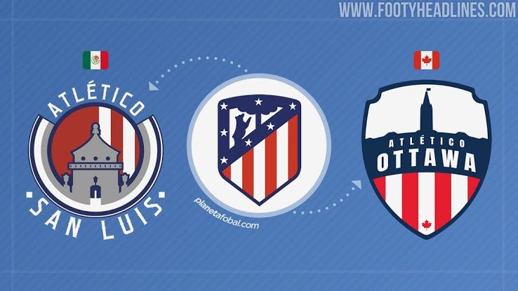 """Lanzamiento del equipo """"Atlético Ottawa"""" propiedad del Atlético de Madrid"""