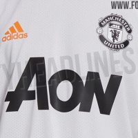 Kit de entrenamiento del Manchester United 2021