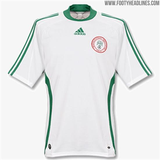 Historia completa de las Camisetas de Nigeria desde 1949 hasta el 2020