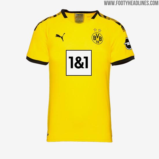 Nuevo patrocinador del Borussia Dortmund BVB 1&1