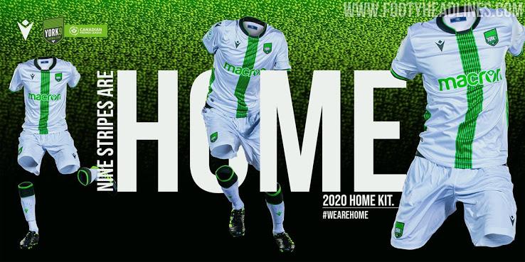 Lanzamiento de la camiseta de casa del York9 FC 2020