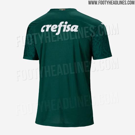 Camiseta del Palmeiras para la campaña 2020/2021