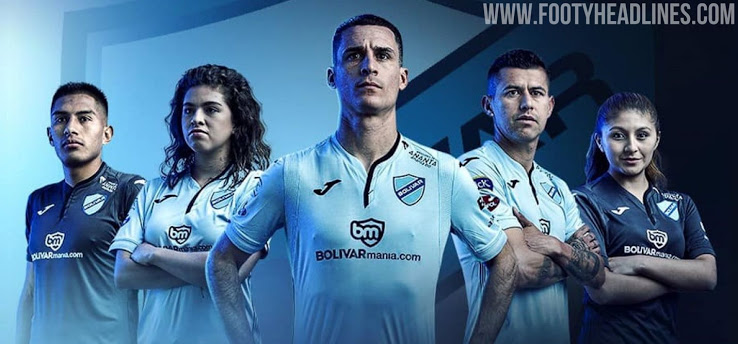 Camiseta alternativa del club Bolívar 2020