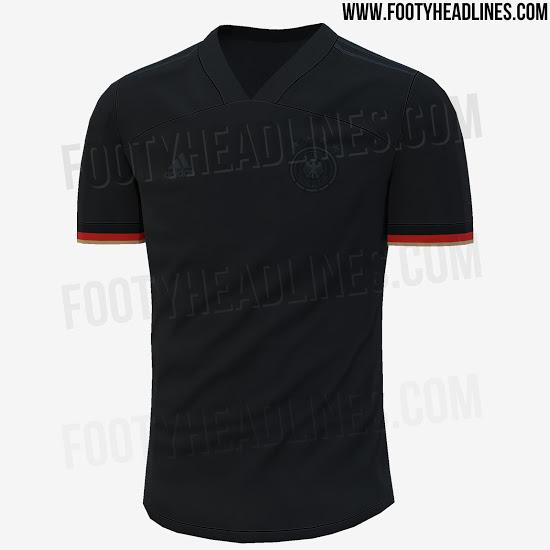 Camiseta de Alemania de color negro para este 2020