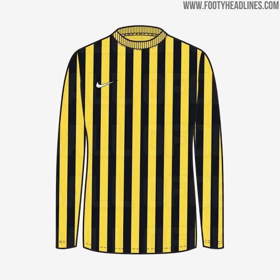 Camisetas de equipos Nike con rayas 2021 se filtran