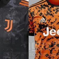 Tercera camiseta de la Juventus para la campaña 2020/2021