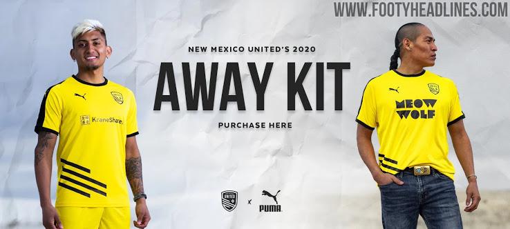 La nueva camiseta de Nuevo Mexico 2ª Equipación 2020
