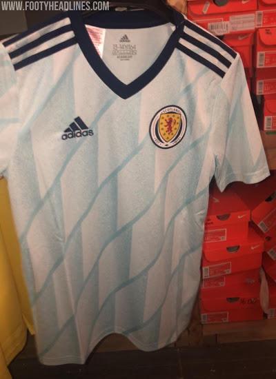 Camiseta Escocia 2ª Equipación 2020 Filtrada