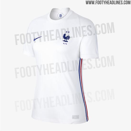 Se filtra la camiseta de visitante de Francia para la Euro 2020