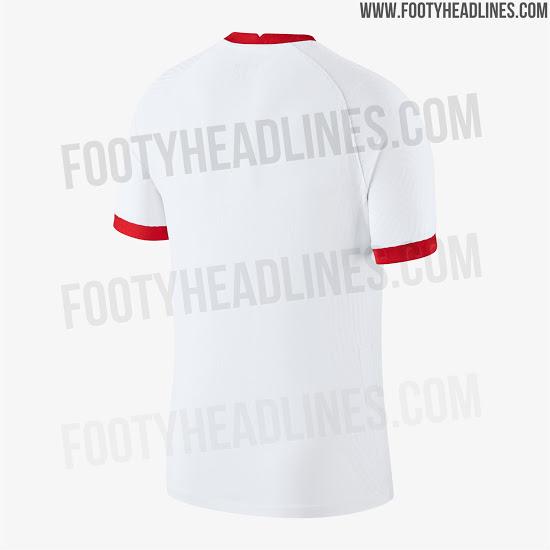 Nuevas camisetas de Turquía para la Euro 2020
