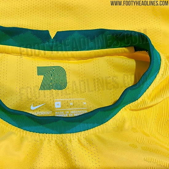 Se filtró camiseta de local de Brasil para la Copa América 2020