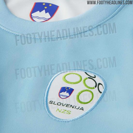 Filtrada nueva camiseta local de Eslovenia 2020