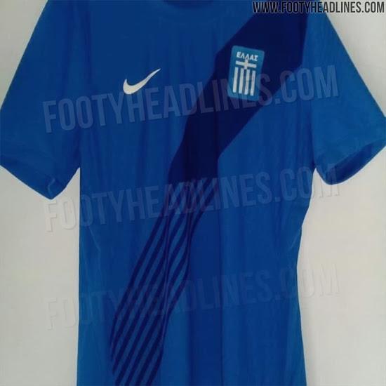 Camisetas de Grecia 2020 para local y visitante