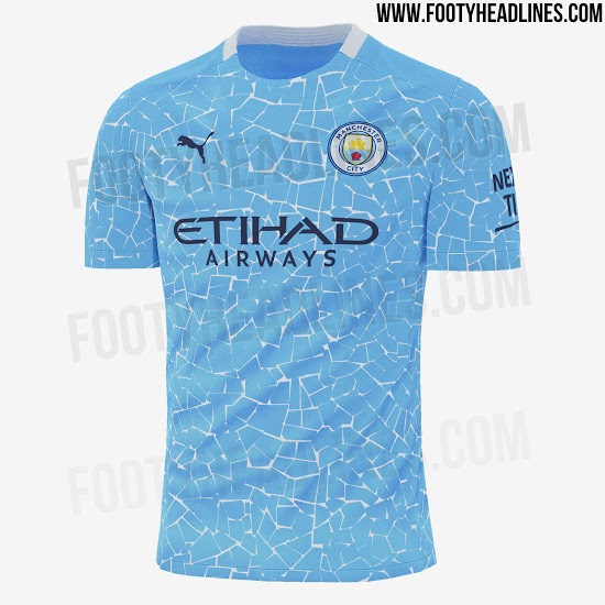 Filtrada nueva camiseta de local del Manchester City 2020 - 2021