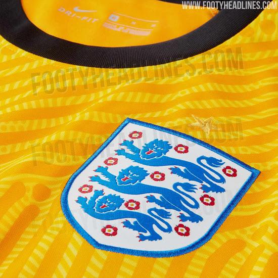 Camiseta de portero de Inglaterra para la Euro 2020