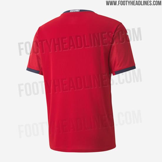 Camiseta de local de República Checa para la Euro 2020