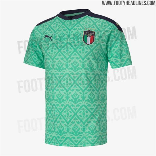 Camiseta de portero de Italia para la Euro 2020