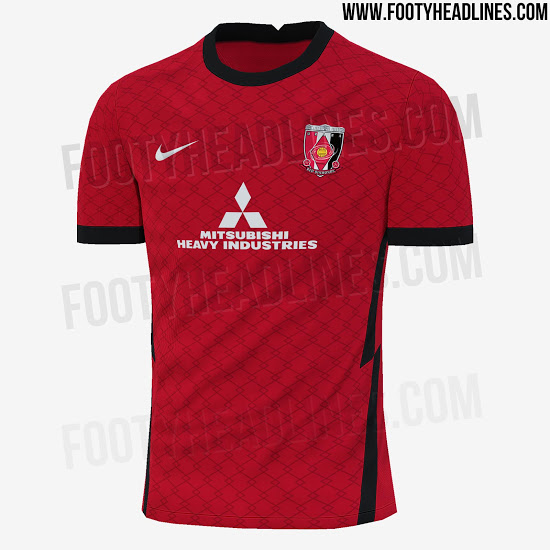 Camiseta de local del Urawa Red Diamonds 2021