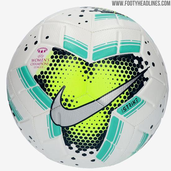 Balón de Nike para la UEFA Champions League femenina del año 2020