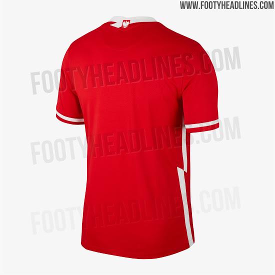 Camiseta de visitante de Polonia para la Euro 2020