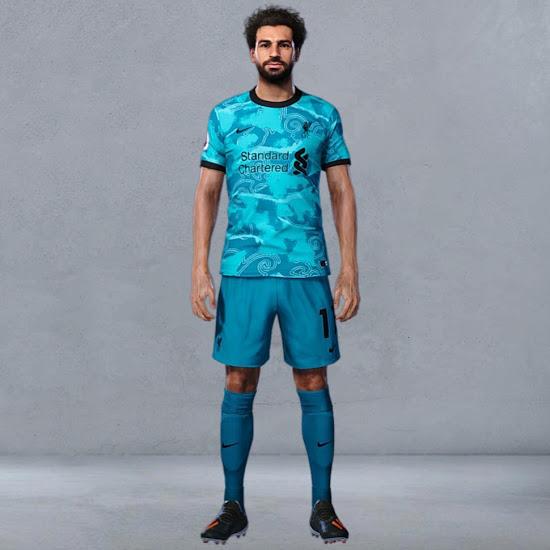Camiseta de visitante del Liverpool 2020-2021