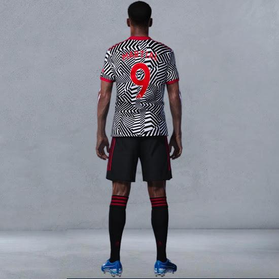 Tercera camiseta del Manchester United 2020-2021