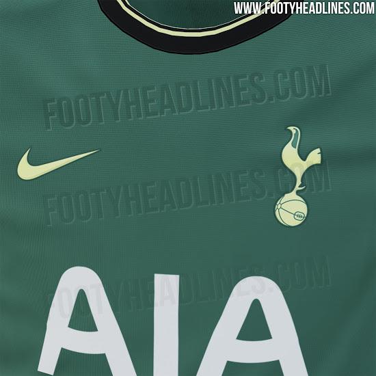 Camiseta de visitante del Tottenham Hotspur 2020-2021