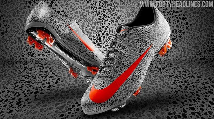 Botas Nike Mercurial CR7 Safari 2020 Diseño Aniversario de los 10 Años