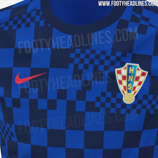 Camiseta Pre Partido de Croacia 2020-2021