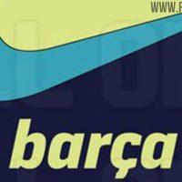Extraordinario Colorida chaqueta del FC Barcelona 2021