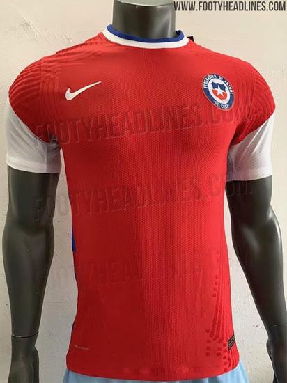 Camiseta de local de Chile para la Copa América 2020