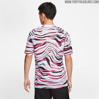 Increíble Camiseta Pre - Partido Nike Corea Del Sur 2020