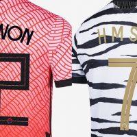 Tipo de letra de las camisetas de Corea Del Sur 2020