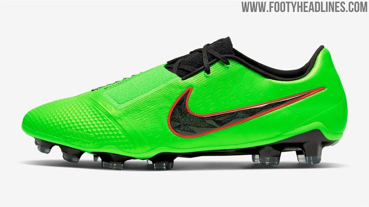 "Botas ""Verde Huelga"" Nike Fantasma Veneno"
