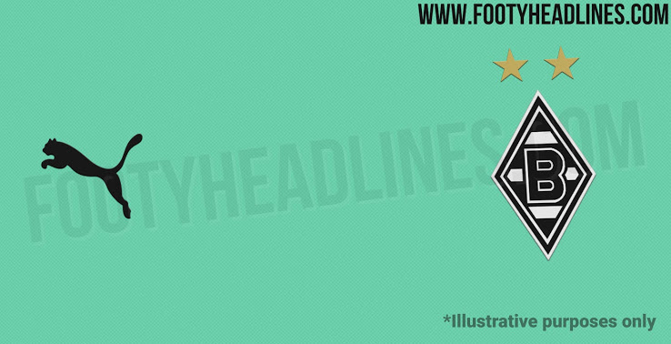 Camiseta Alternativa del Borussia Mönchengladbach 2020-2021