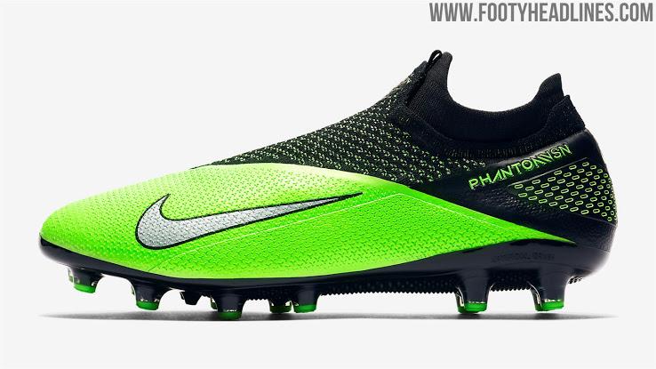 Aditivo núcleo Aguanieve  ▷ Botas verdes Nike Phantom Visión 2 2020 🥇