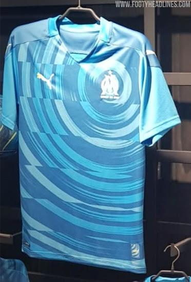 Tercera camiseta del Olympique De Marsella, 2020-2021